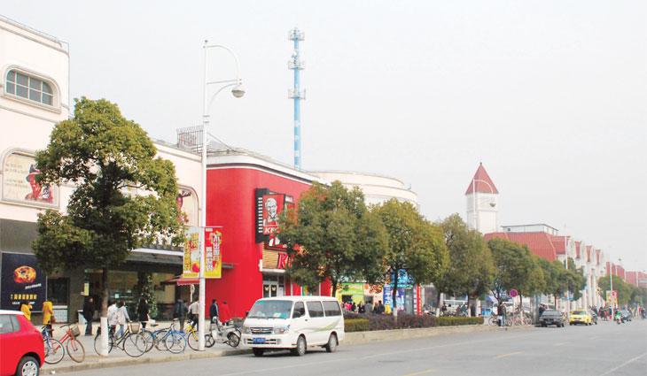 松江大学城商业街